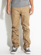 Brixton Fleet Rigid Chino Pants Khaki
