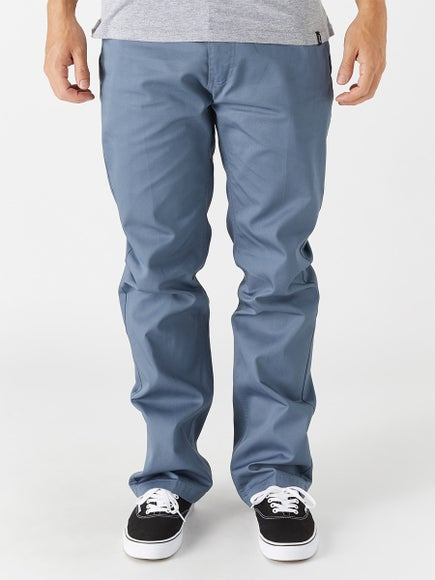 Brixton Fleet Lightweight Rigid Chino Pants Grey Blue 185a1478a61