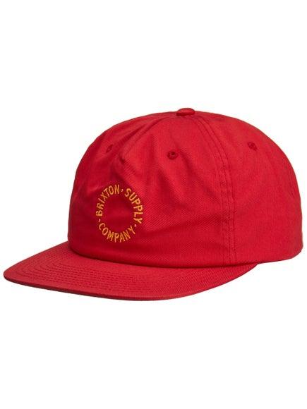4e1803b86f886 Brixton Feature Medium Profile Snapback Hat