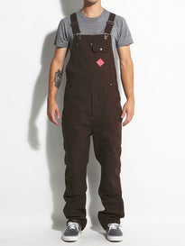 Brixton Fleet Overall Pants Brown