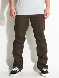 Brixton Fleet Rigid Chino Pants  Brown