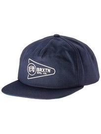 Brixton Fury LP Snapback Hat