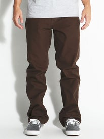 Brixton Fleet Rigid 5-Pocket Pants Brown