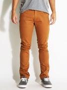 Brixton Grain 5 Pocket Twill Pants  Copper
