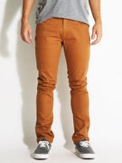 Brixton Grain 5 Pocket Twill Pants  Copper