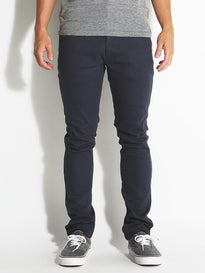 Brixton Grain 5 Pocket Twill Pants  Indigo