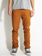 Brixton Grain Chino Pants  Copper