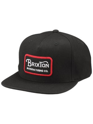 Brixton Grade Snapback Hat Black Adj.