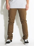 Brixton Grain Chino Pants  Dark Khaki
