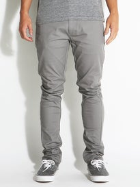 Brixton Grain Chino Pants  Grey