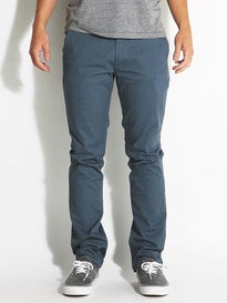 Brixton Reserve Chino Pants  Heather Steel
