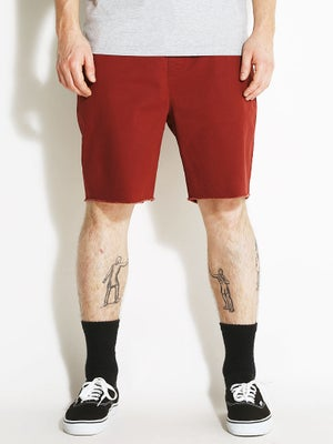 Brixton Madrid Shorts Burgundy 2XL