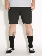 Brixton Madrid Shorts  Black