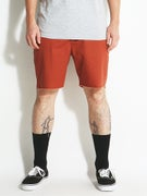 Brixton Madrid Shorts  Burnt Orange
