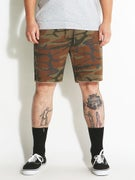 Brixton Madrid Shorts  Camo