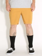 Brixton Madrid Shorts  Gold