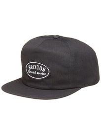 Brixton Mags HP Snapback Hat