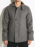 Brixton Mast Jacket  Heather Grey