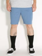Brixton Madrid Shorts  Light Blue