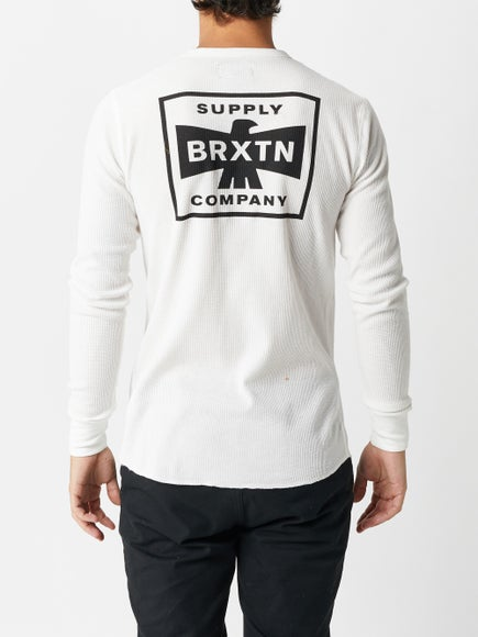 8be0fa48e9c8 Brixton Martial II Longsleeve Knit Shirt