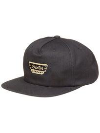 Brixton Normandie Snapback Hat