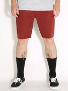 Brixton Parker Shorts  Burgundy