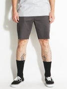 Brixton Parker Shorts  Charcoal