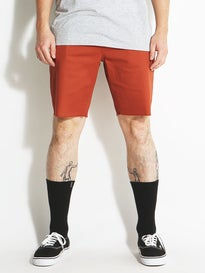 Brixton Parker Shorts  Burnt Orange