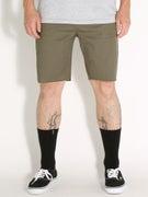 Brixton Parker Shorts  Olive