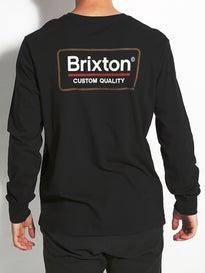 Brixton Palmer L/S Premium T-Shirt
