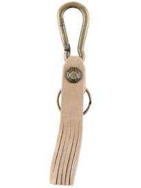 Brixton Poods Keychain  Natural