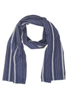Brixton Williams Scarf  Navy/White