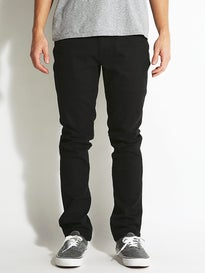 Brixton Reserve 5 Pocket Pants  Black