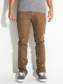 Brixton Reserve 5 Pocket Pants  Dark Khaki