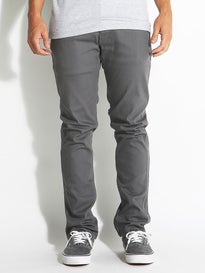Brixton Reserve 5 Pocket Pants  Charcoal