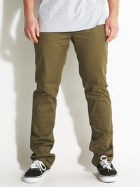 Brixton Reserve Chino Pants  Olive