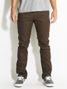 Brixton Reserve Rigid Chino Pants  Brown