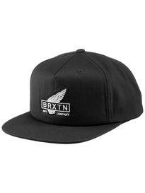 Brixton Rawlins Snapback Hat