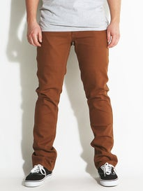 Brixton Reserve 5 Pocket Pants  Chestnut