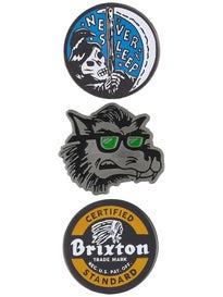 Brixton Sleeper Pin Pack