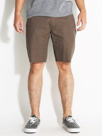 Brixton Toil II Chino Shorts  Heather Brown