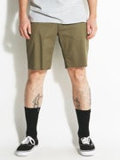Brixton Toil II Chino Shorts  Sage