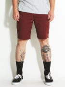 Brixton Toil II Chino Shorts  Burgundy