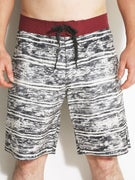 Brixton Tenor Trunks Charcoal/Burgundy