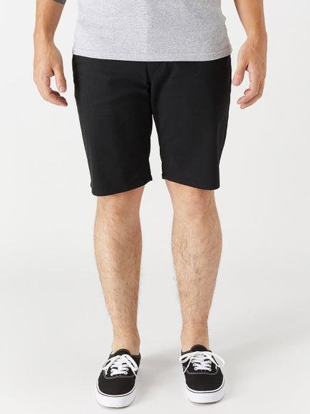Brixton Toil II Hemmed Shorts Black 9c7a3b2b6d7