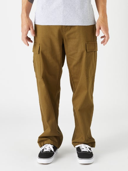 Brixton Union Allied Cargo Pants Olive 67bb80f8406