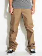 Brixton Union Rigid Chino Pants  Khaki