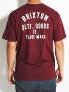 Brixton Woodburn T-Shirt