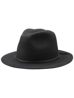 Brixton Wesley Fedora Hat Black SM