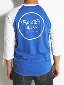 Brixton Wheeler 3/4 Sleeve T-Shirt